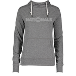 NATIONALS ENZA DOT HOODY WOMEN (GRAY)