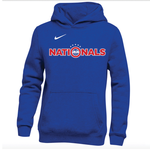 NIKE NATIONALS FLEECE HOODY YOUTH (BLUE)