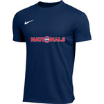 NIKE NATIONALS PARK TRAINING SHIRT (NAVY)