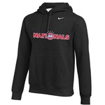 NIKE NATIONALS TEAM CLUB PULLOVER HOODY (BLACK)