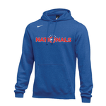 NIKE NATIONALS TEAM CLUB PULLOVER HOODY (BLUE)