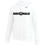 NIKE NATIONALS TEAM CLUB PULLOVER HOODY (WHITE)