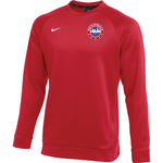 NIKE NATIONALS THERMA CREW TOP (RED)