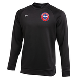 NIKE NATIONALS THERMA CREW TOP (BLACK)