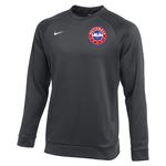 NIKE NATIONALS THERMA CREW TOP (GRAY)