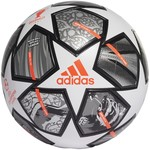 ADIDAS FINALE 21 20TH ANNIVERSARY UCL LEAGUE BALL (WHITE/SILVER)