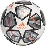 ADIDAS FINALE 21 20TH ANNIVERSARY UCL MINI BALL (WHITE/SILVER)