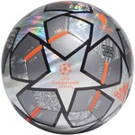 ADIDAS FINALE 21 20TH ANNIVERSARY UCL HOLOGRAM FOIL TRAINING BALL (SILVER)