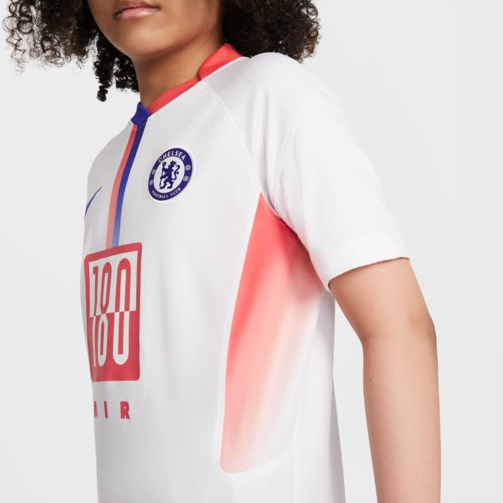 NIKE CHELSEA 20/21 AIR MAX SHIRT YOUTH (WHITE)