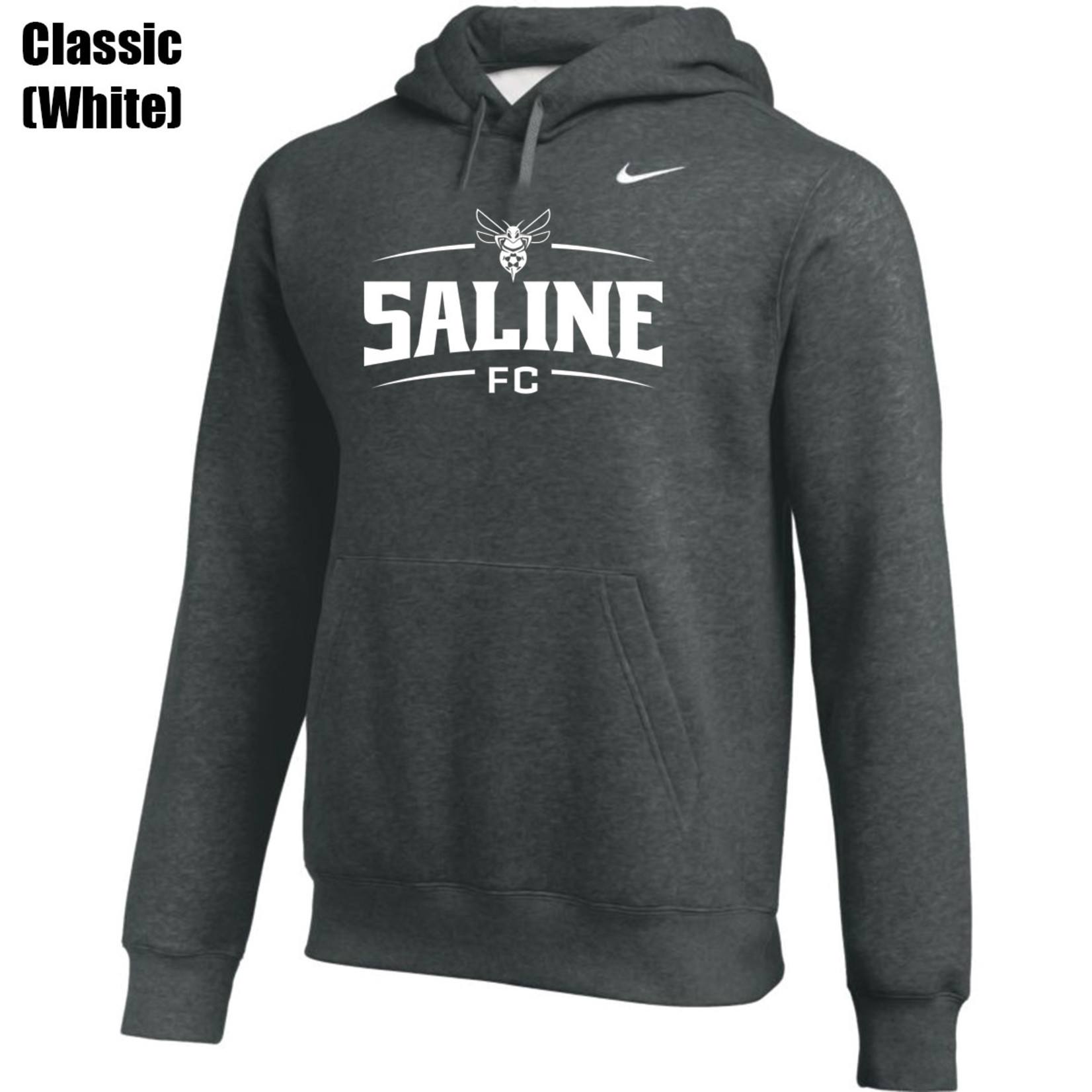 NIKE SALINE CLUB HOODY (DARK GRAY)