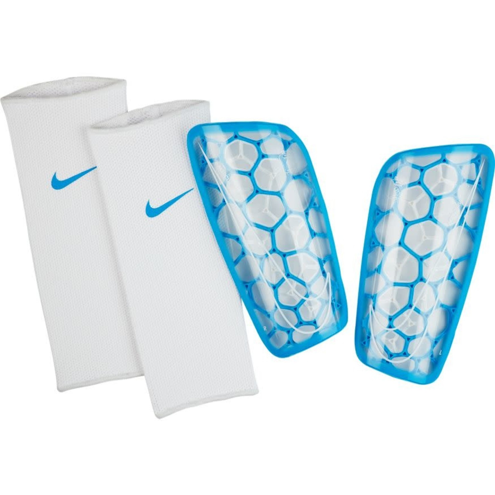 NIKE MERCURIAL FLYLITE GUARDS (BLUE/WHITE)