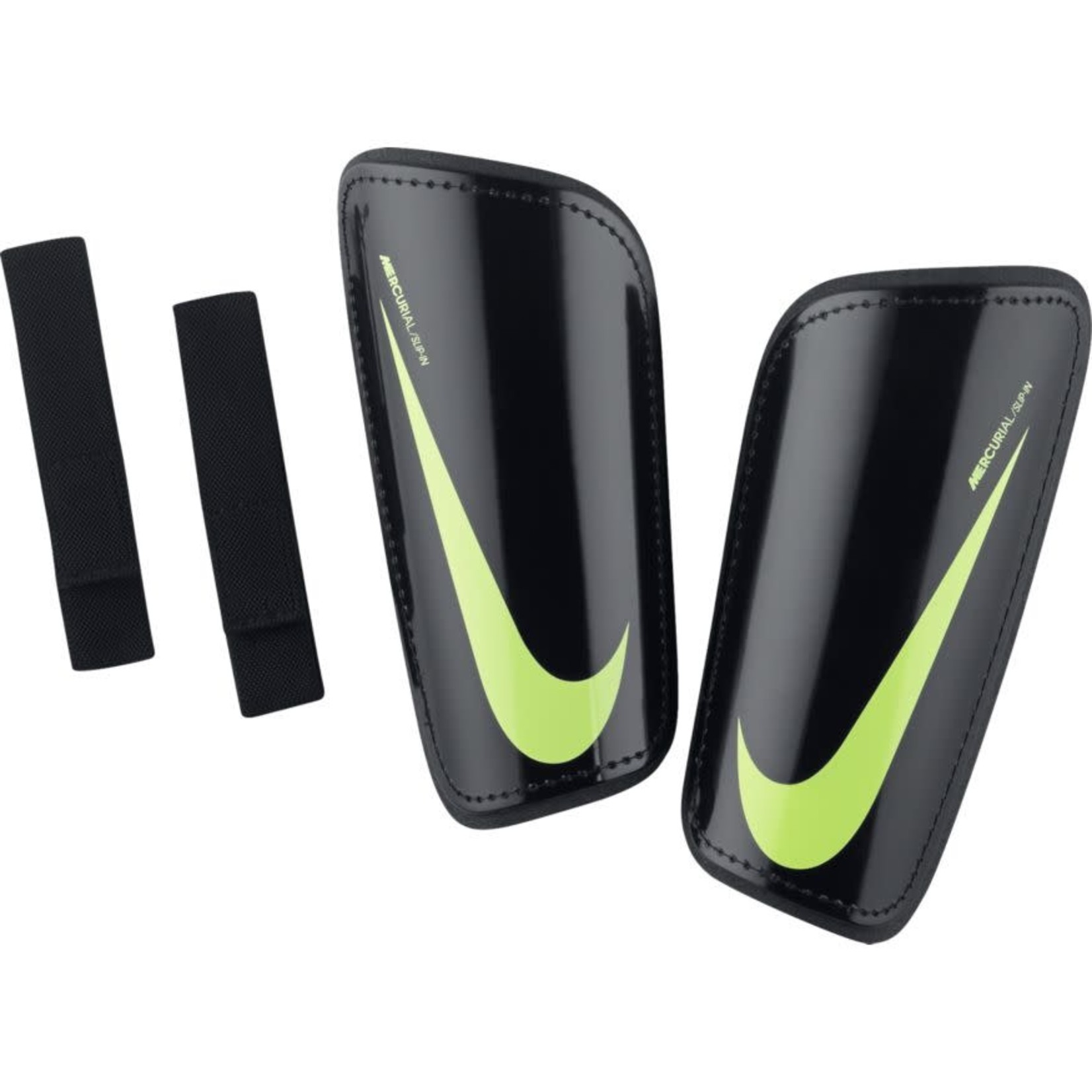 NIKE MERCURIAL HARDSHELL GUARDS (BLACK/VOLT)