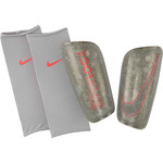 NIKE MERCURIAL LITE SUPERLOCK GUARD (SILVER/CRIMSON)