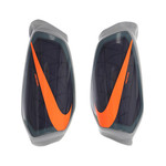 NIKE PROTEGGA GUARDS (NAVY/ORANGE)