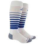ADIDAS TEAM SPEED SOCKS (WHITE/BLUE)