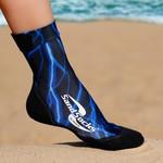 SAND SOCKS (BLACK/BLUE)
