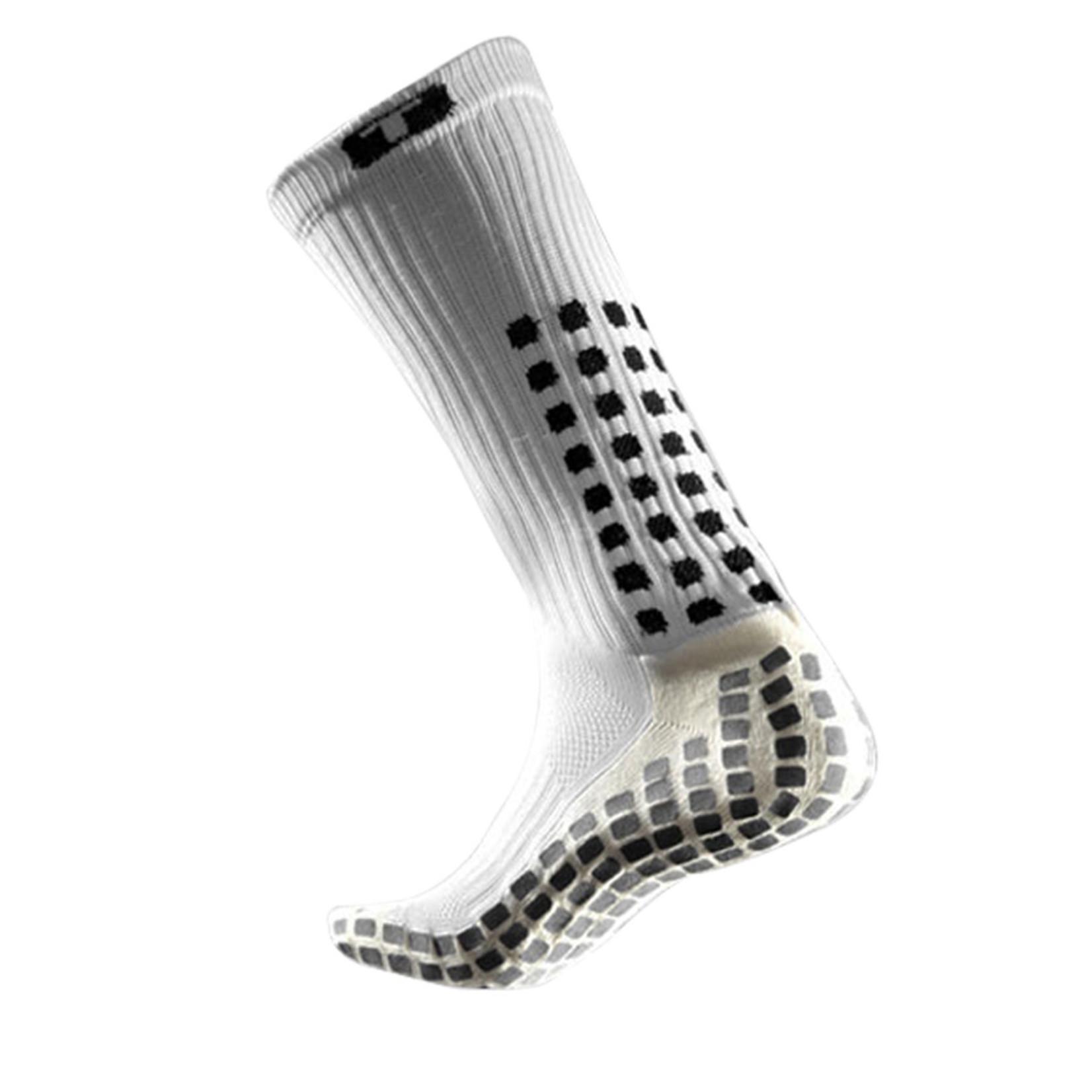 MID-CALF CREW SOCKS (WHITE)