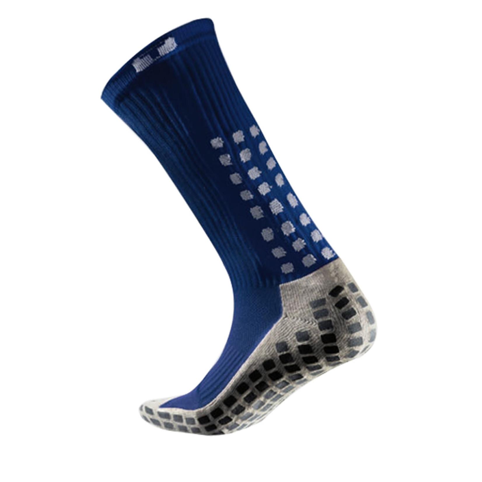 MID-CALF CREW SOCKS (BLUE)