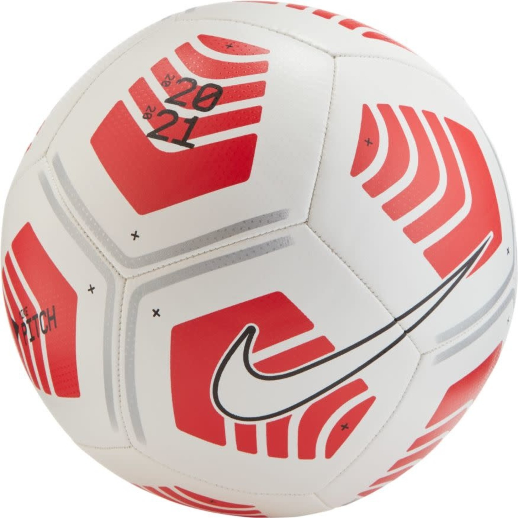 NIKE PITCH BALL 20/21 (WHITE/RED)