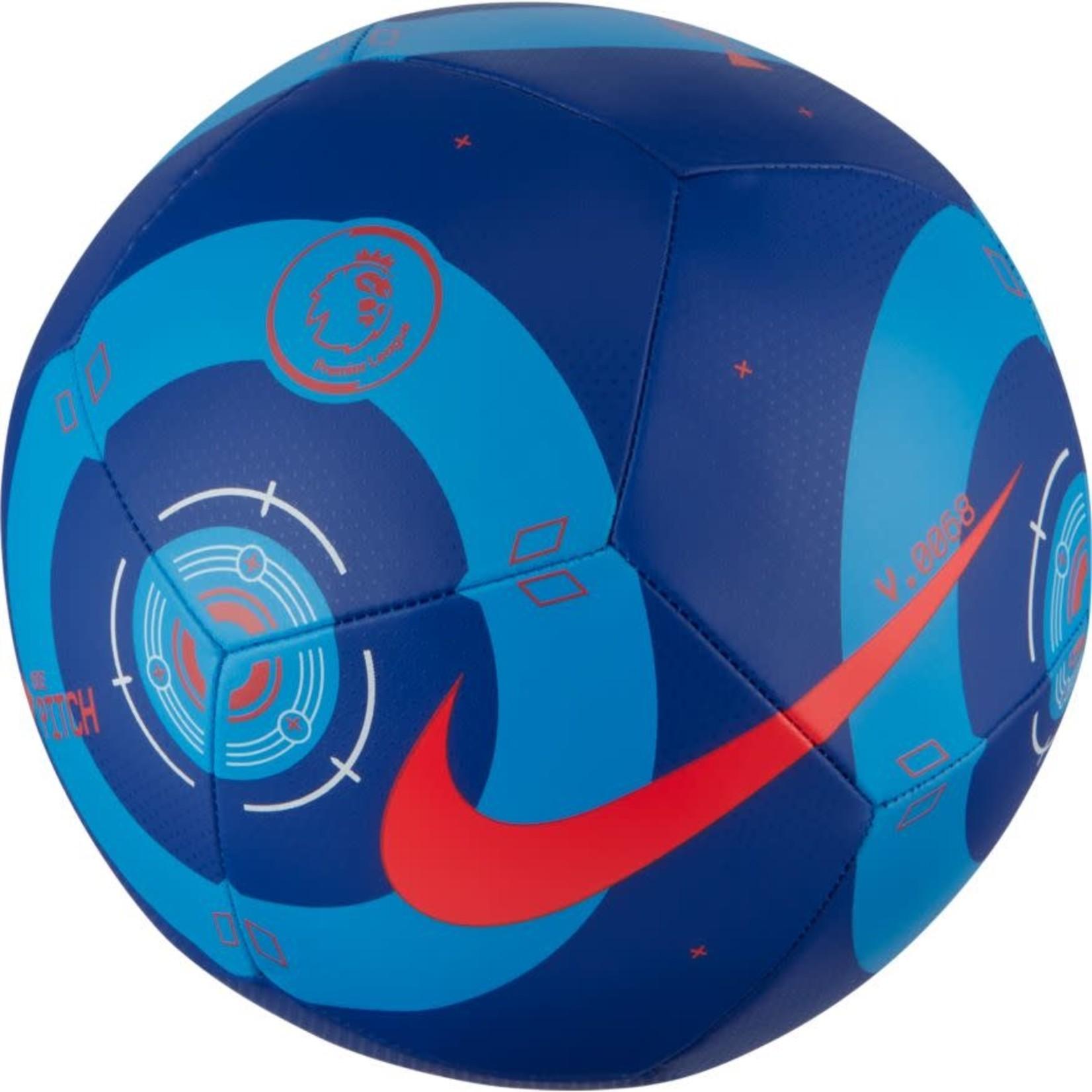 NIKE PREMIER LEAGUE PITCH BALL 20/21 (BLUE/BLUE/CRIMSON)