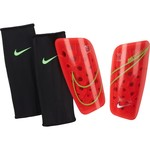 NIKE MERCURIAL LITE GUARD (CRIMSON/LIME)