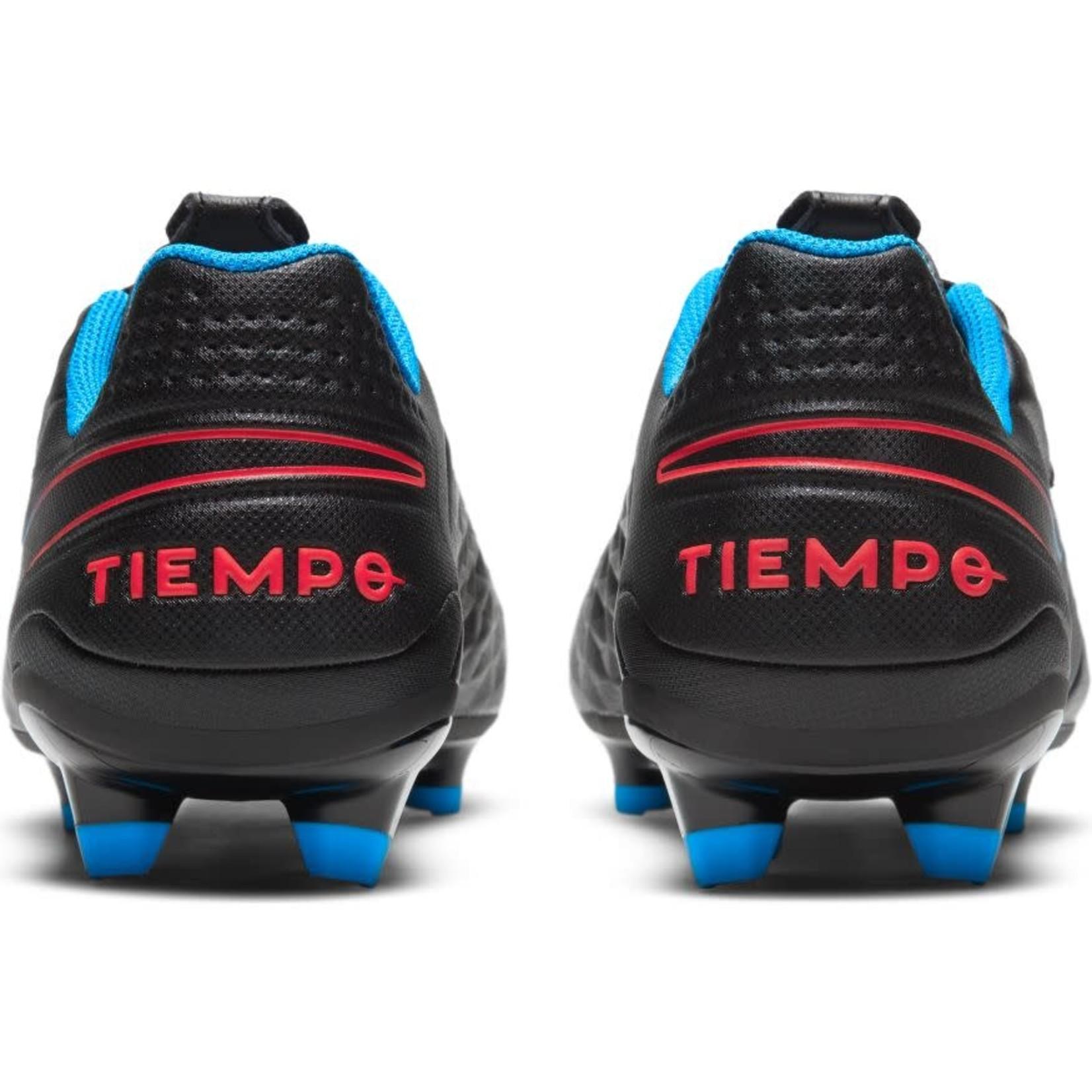 NIKE TIEMPO LEGEND 8 ACADEMY FG/MG (BLACK/BLUE/RED)