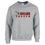 TEAM CREW SWEATSHIRT (SPORT GRAY)
