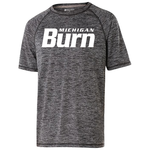 HOLLOWAY MI BURN ELECTRIFY TEE SS YOUTH (BLACK)