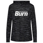 NIKE MI BURN LEGEND VANEER HOODY WOMEN'S (BLACK)