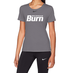 NIKE MI BURN PRO SS TEE WOMEN'S (GRAY)