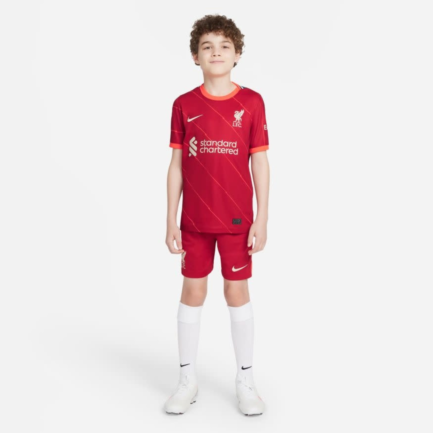 NIKE LIVERPOOL 21/22 HOME JERSEY YOUTH (RED)