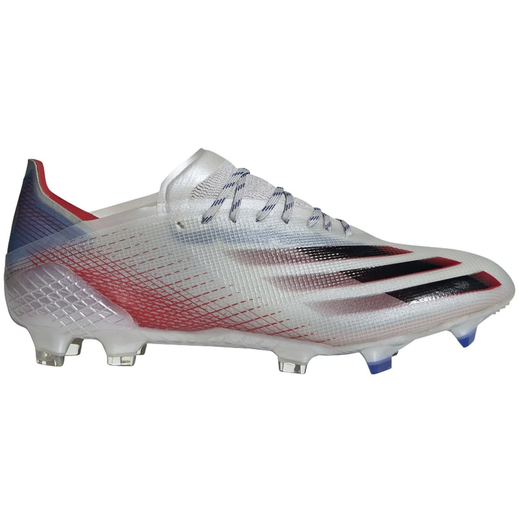 ADIDAS X GHOSTED.1 FG (SILVER/RED/BLUE)