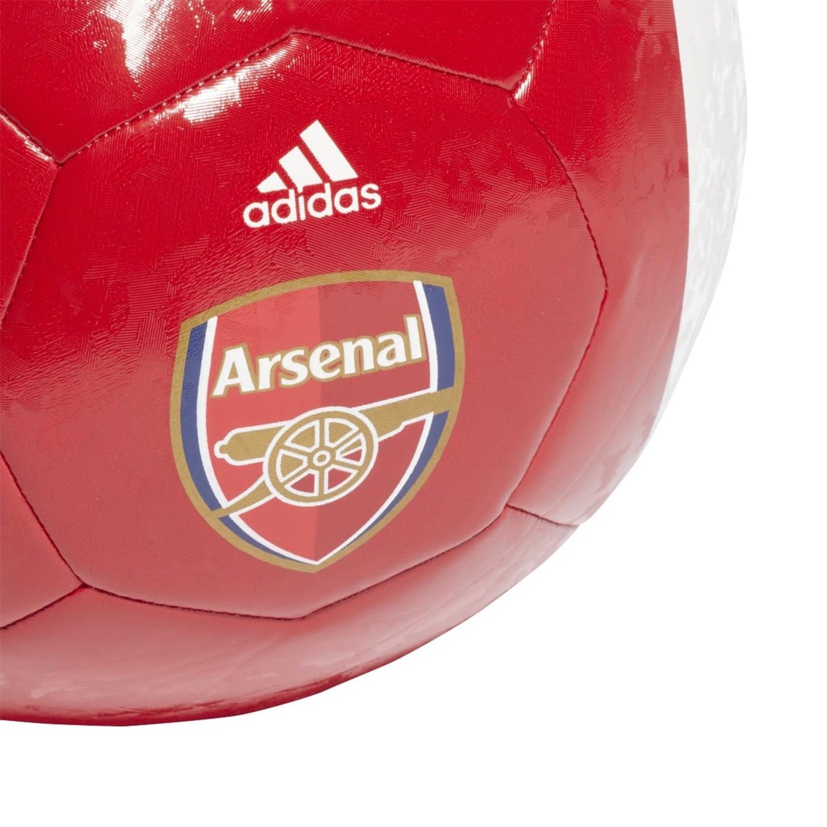 ADIDAS ARSENAL 21/22 HOME CLUB BALL (RED/WHITE)