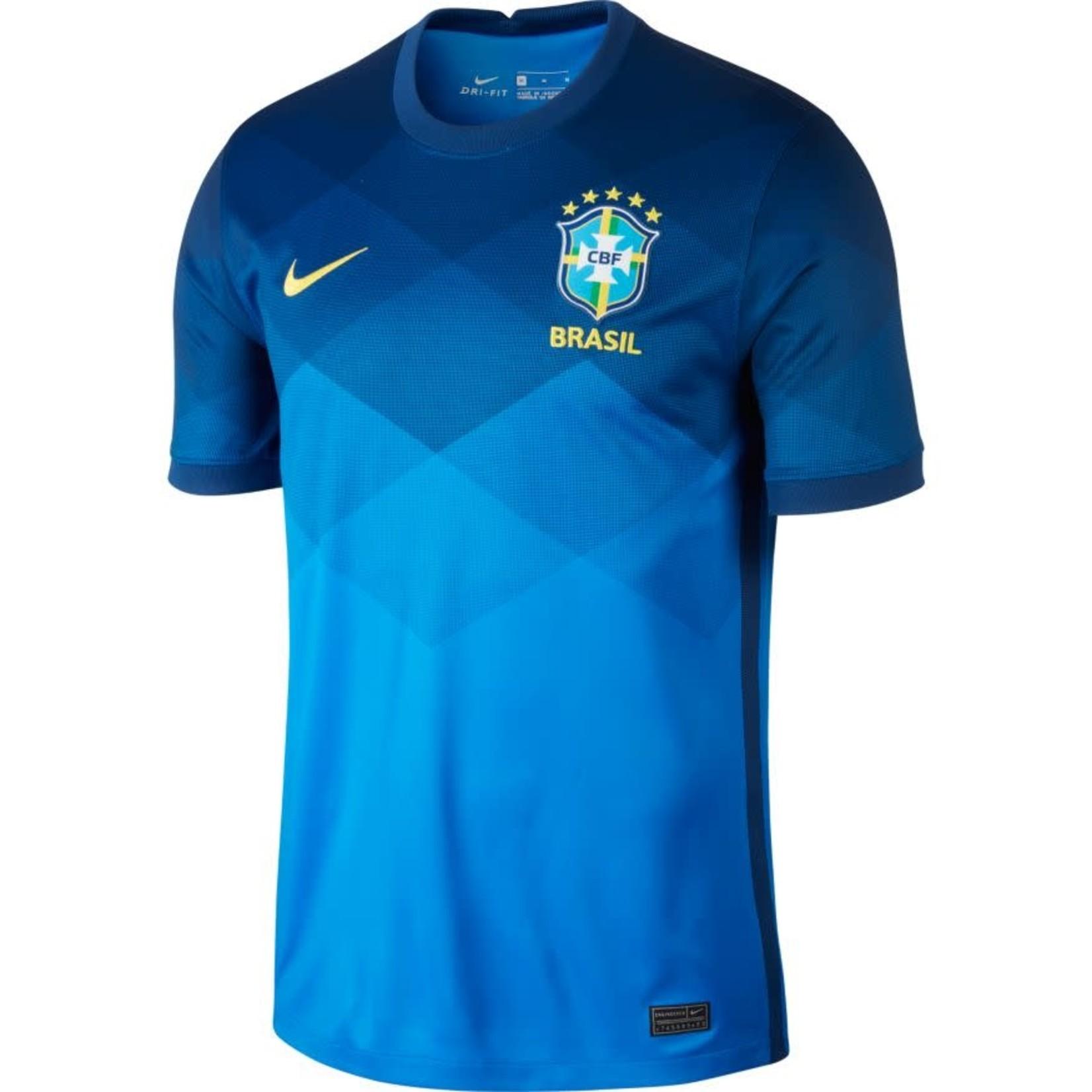 NIKE BRASIL 2020 AWAY JERSEY (BLUE/YELLOW)