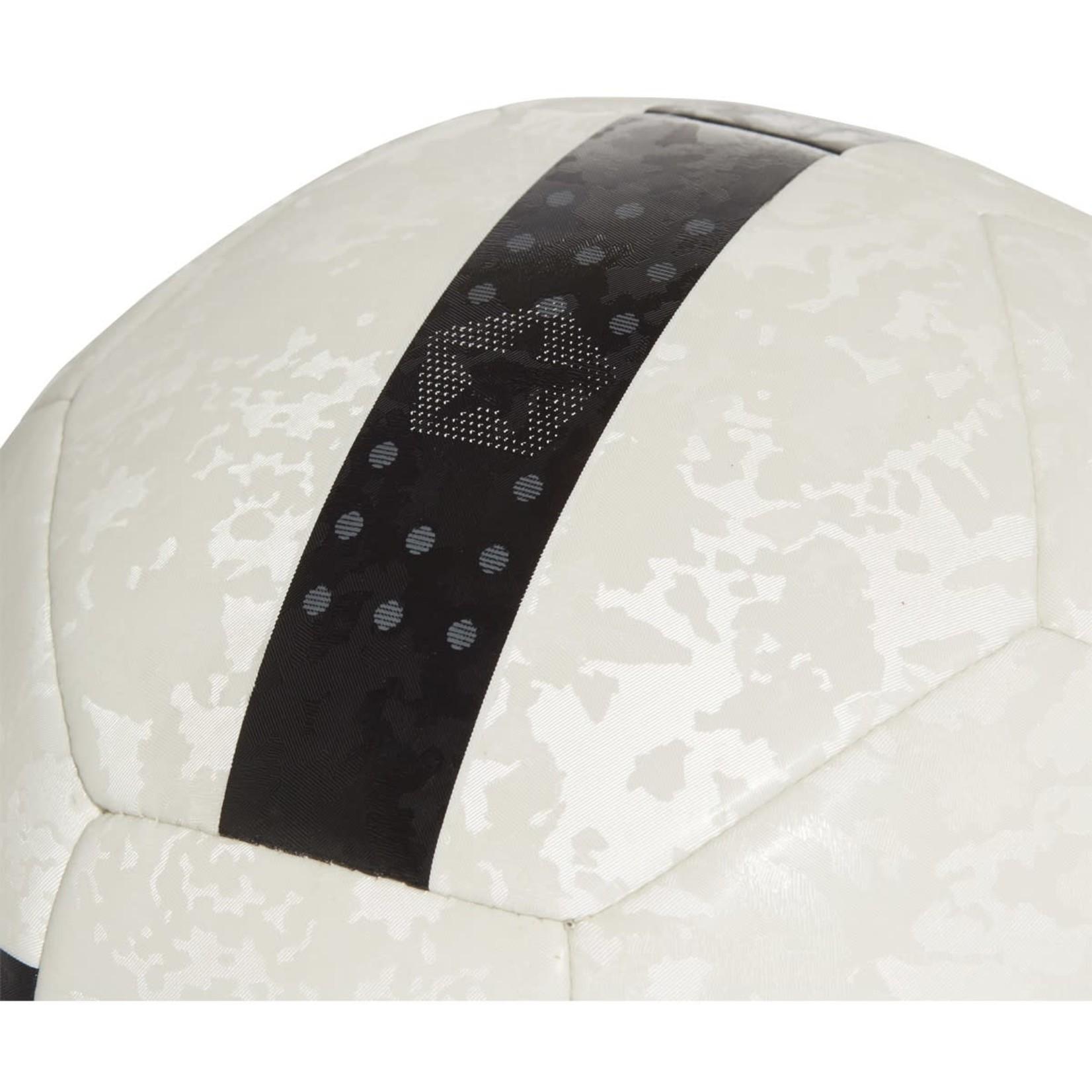 ADIDAS JUVENTUS 21/22 HOME CLUB BALL (WHITE/BLACK)