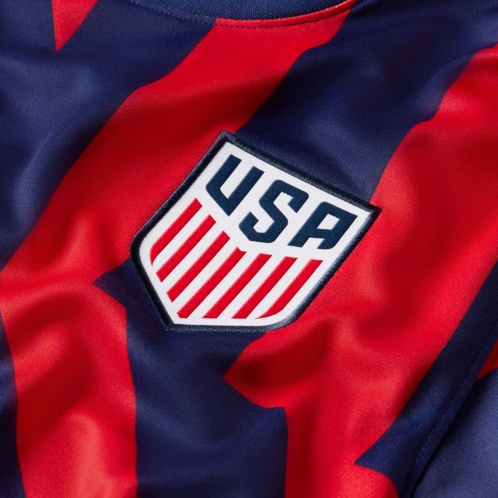 NIKE USA 2021 AWAY JERSEY (NAVY/RED)