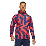 NIKE USA 2021 ALL WEATHER FAN JACKET (RED/NAVY)