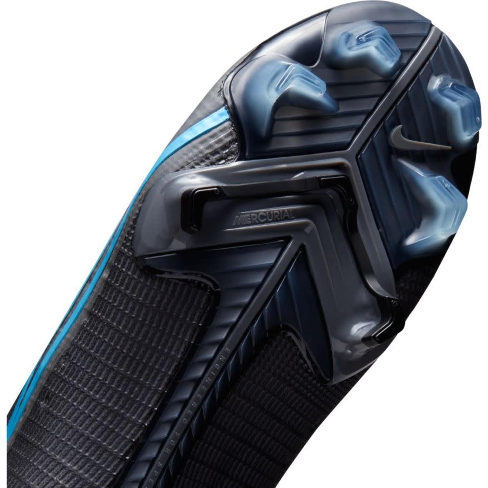 NIKE MERCURIAL SUPERFLY 8 ELITE FG (BLACK/BLUE)
