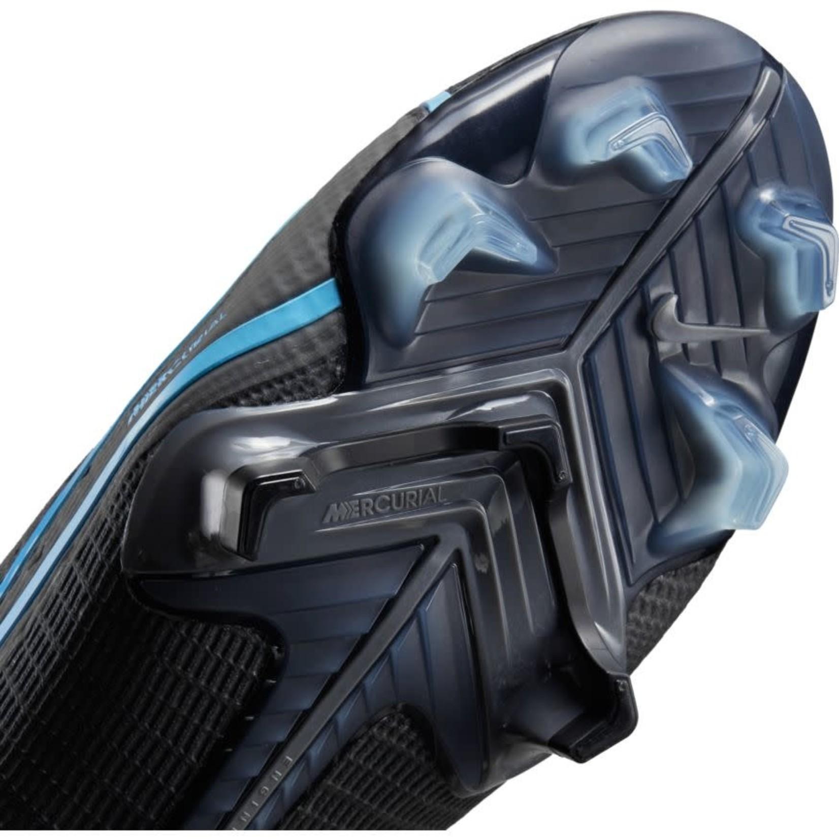 NIKE MERCURIAL VAPOR 14 ELITE FG (BLACK/BLUE)