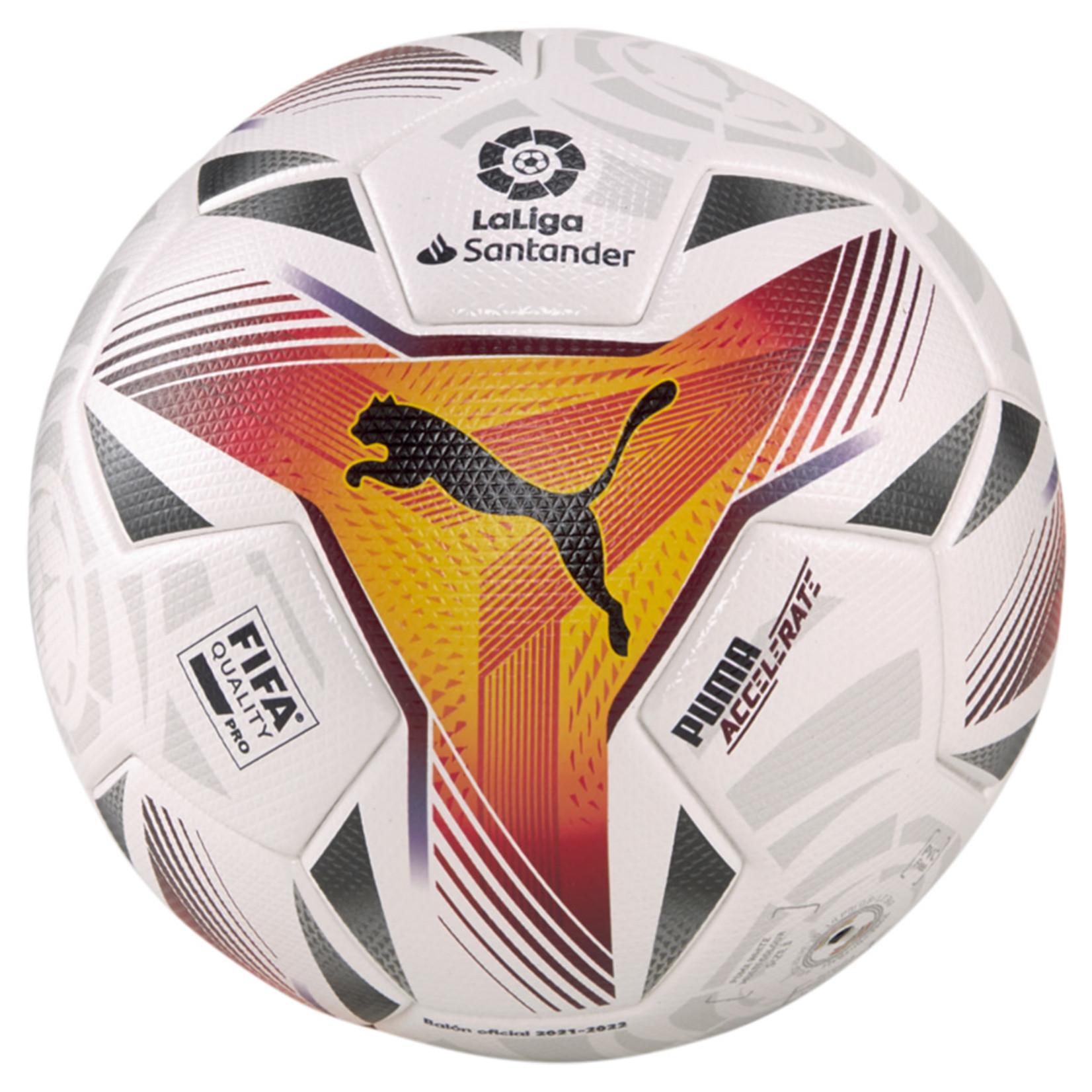 PUMA LA LIGA 1 ACCELERATE FIFA QUALITY PRO BALL 21/22 (WHITE)