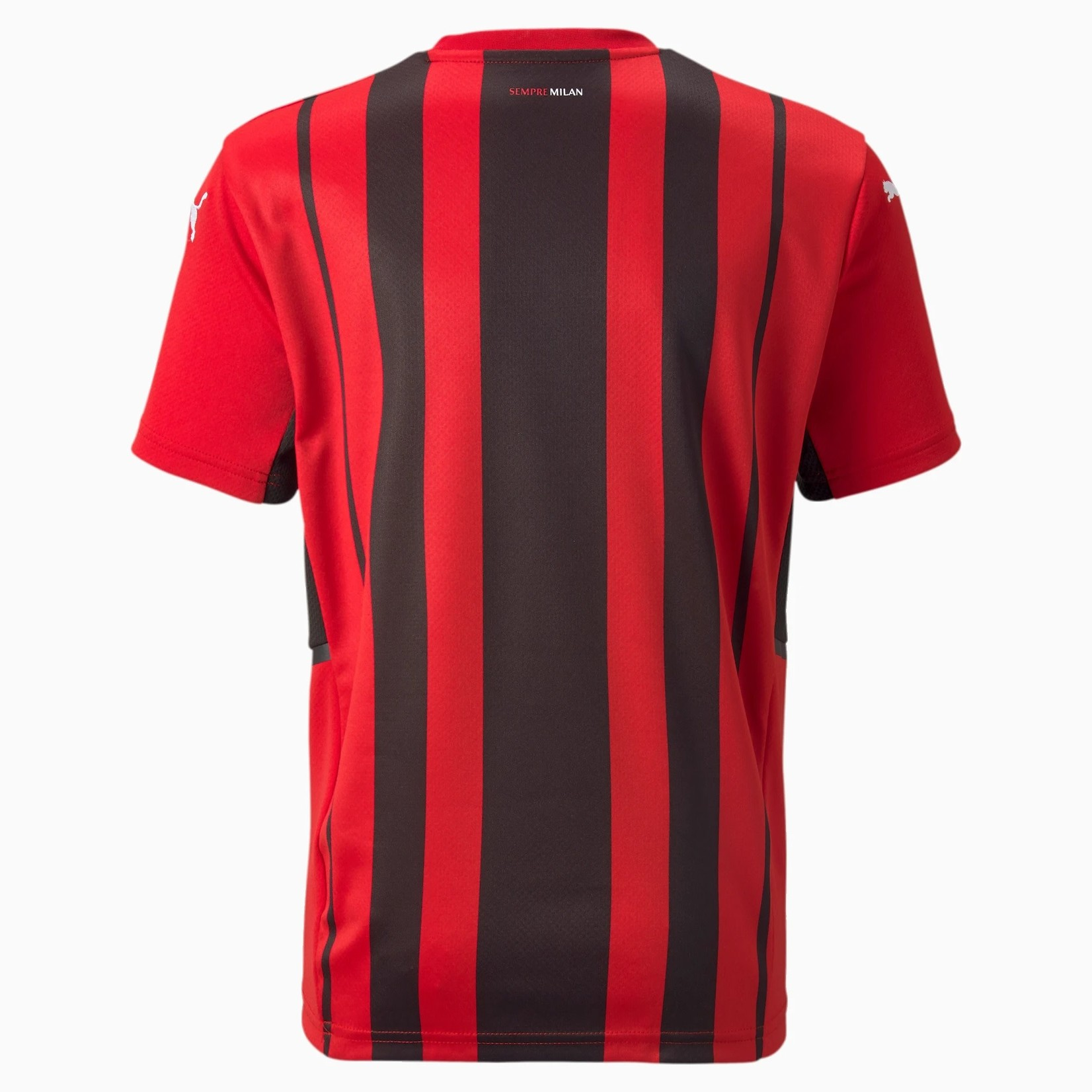 PUMA AC MILAN 21/22 HOME JERSEY YOUTH (RED/BLACK)