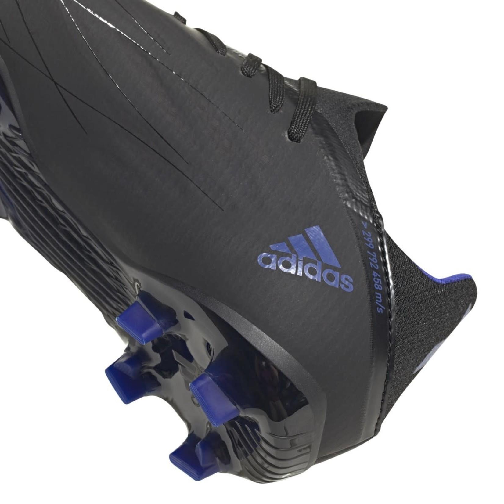 ADIDAS X SPEEDFLOW.1 FG JR (BLACK/BLUE)