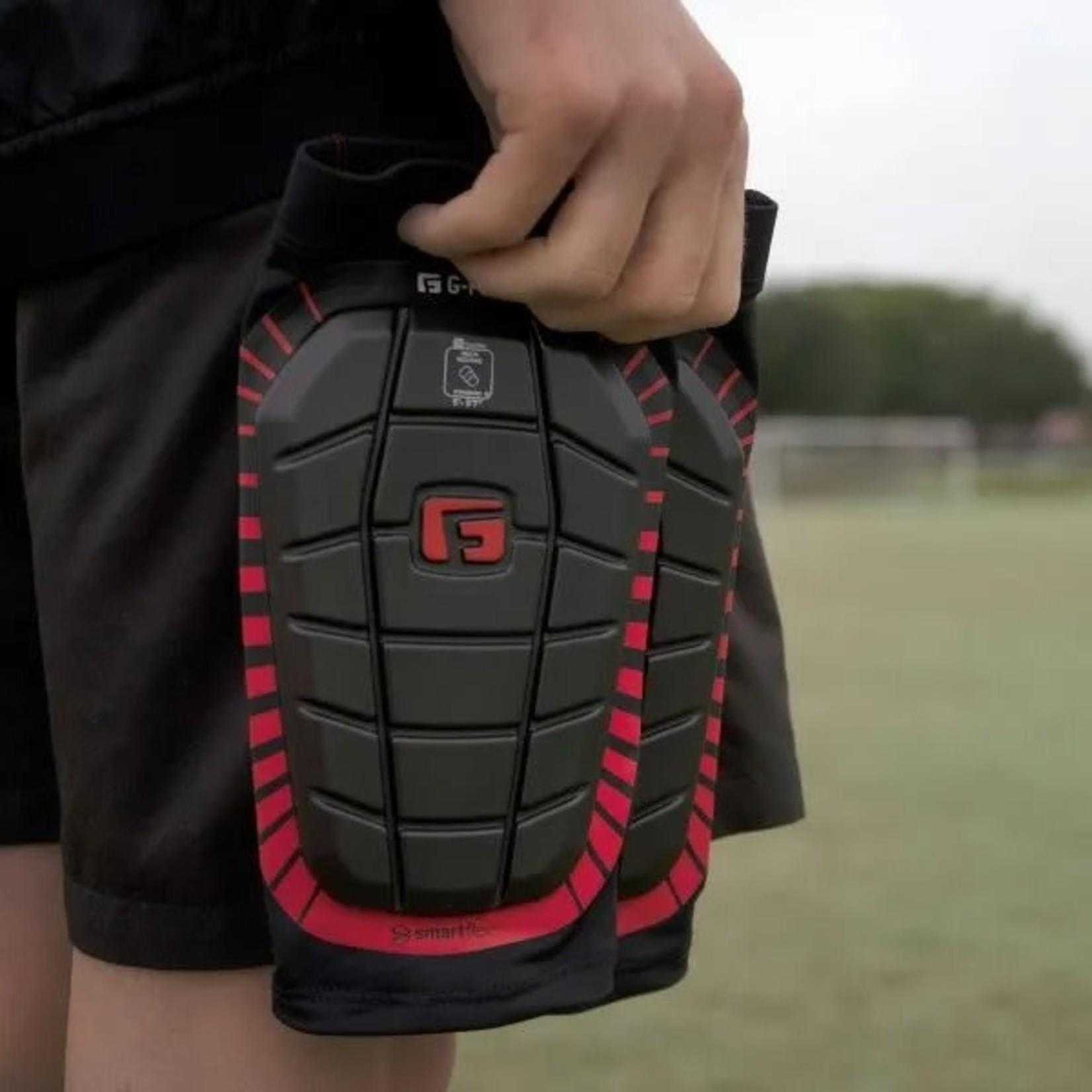 G-FORM PRO-S PREMIER SHIN GUARD (BLACK/RED)