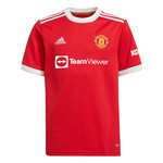 ADIDAS MANCHESTER UNITED 21/22 HOME JERSEY YOUTH (RED)