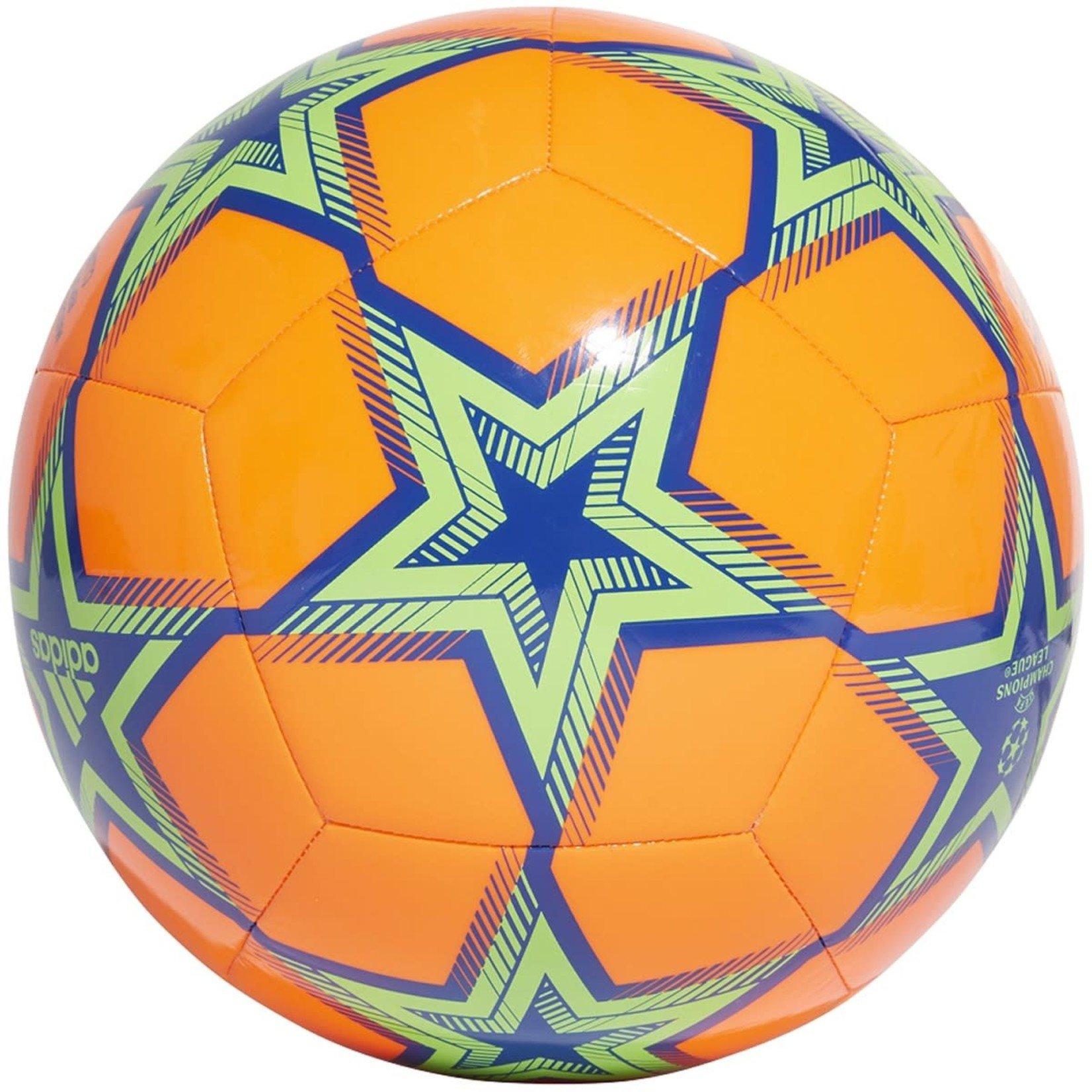 ADIDAS FINALE 21 UCL CLUB PYROSTORM BALL (ORANGE/GREEN)