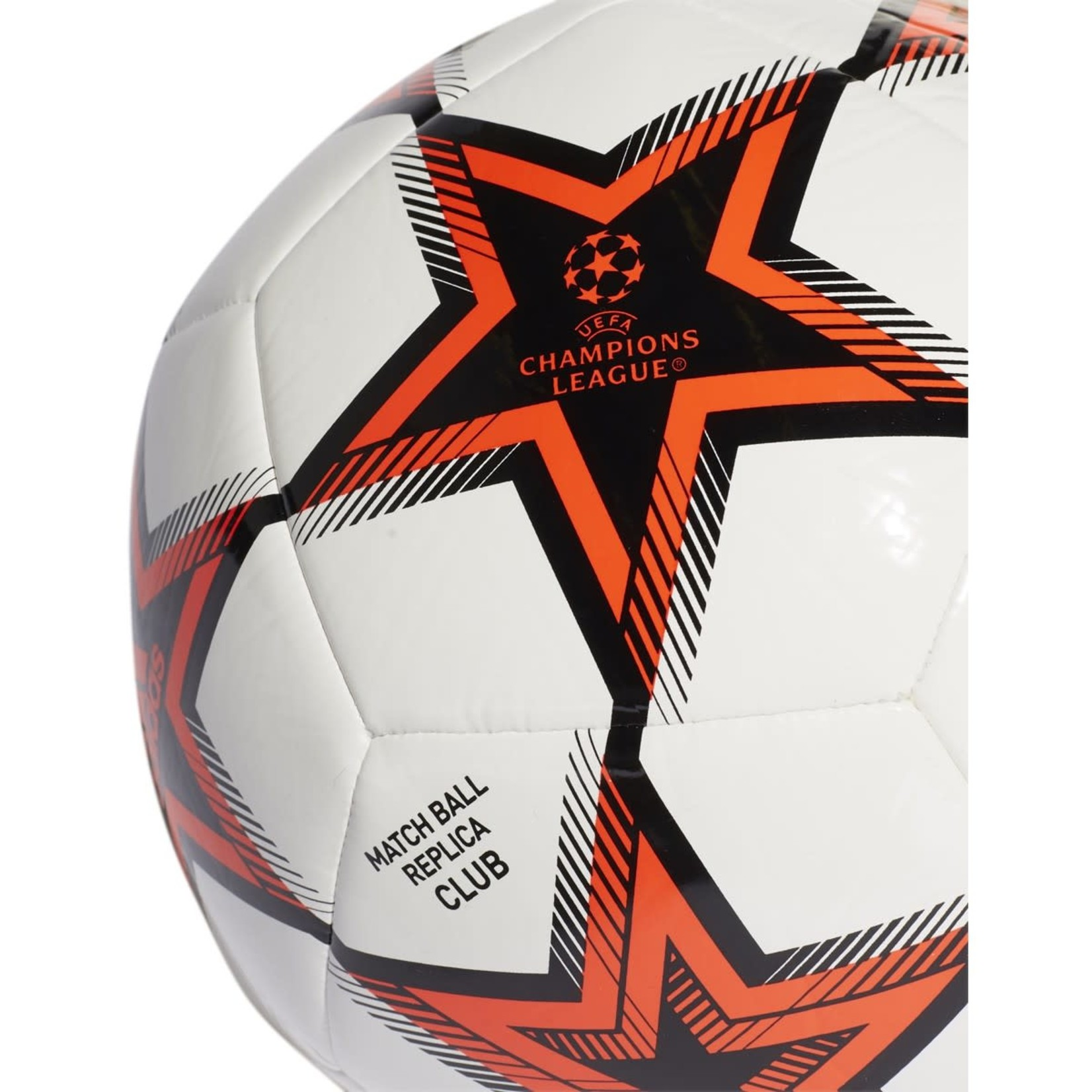 ADIDAS FINALE 21 UCL CLUB PYROSTORM BALL (WHITE/RED)