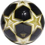 ADIDAS FINALE 21 UCL CLUB PYROSTORM BALL (BLACK/GOLD)