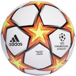 ADIDAS FINALE 21 UCL LEAGUE PYROSTORM BALL (WHITE/RED)