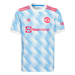 ADIDAS MANCHESTER UNITED 21/22 AWAY JERSEY YOUTH (BLUE/WHITE)