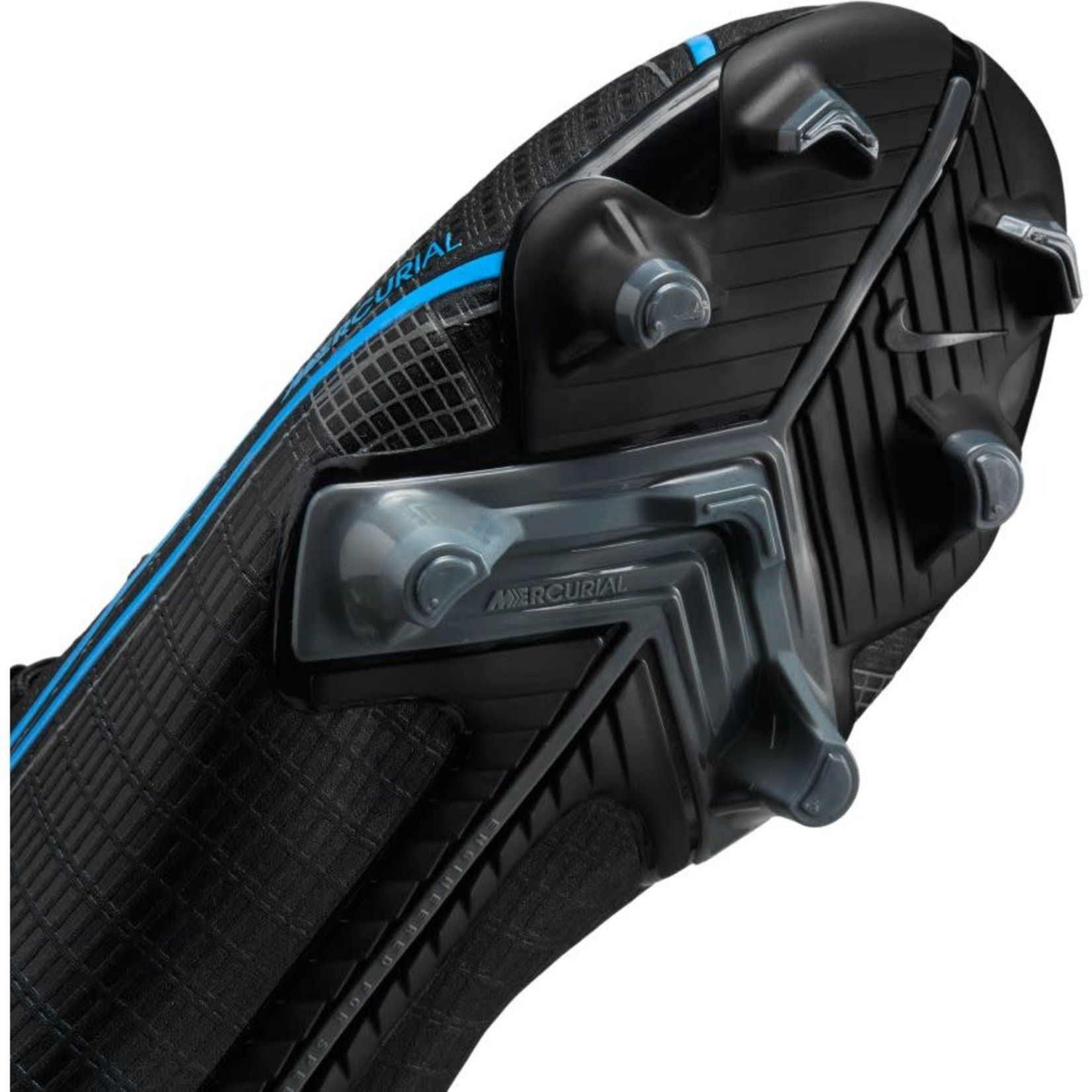 NIKE MERCURIAL SUPERFLY 8 ACADEMY MG JR (BLACK/BLUE)